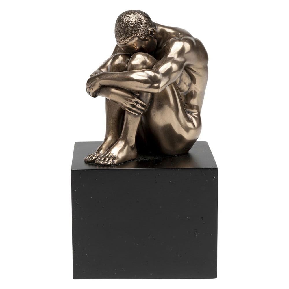 Dekoratívna soška Kare Design Thinking Nude Man, výška 10 cm