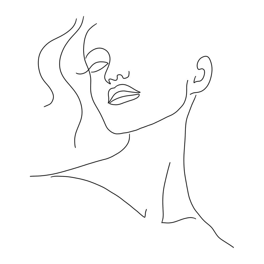 Plagát na kvalitnom papieri Veronika Boulová Abstract, 29 x 41 cm