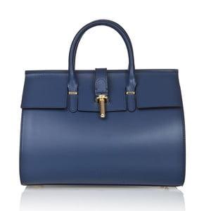 Kožená kabelka Markese 5156 Blue