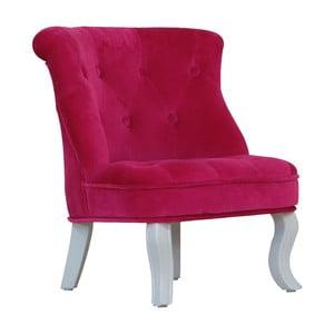 Detské minikreslo Pink Velvet