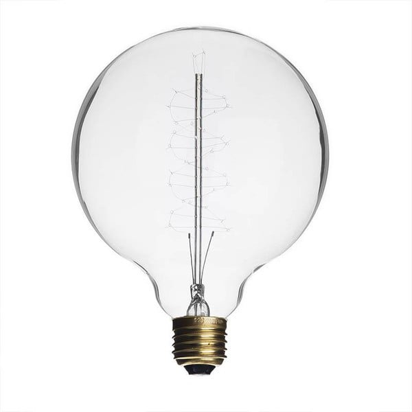 Žiarovka Edison Clear G95 / E27 / 40W