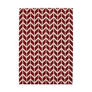 Koberec Asiatic Carpets Chevron Red, 100x150 cm