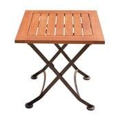 Záhradný odkladací stolík z eukalyptového dreva ADDU Vienna