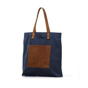 Kožená vintage maxi taška O My Bag Lou's Camel