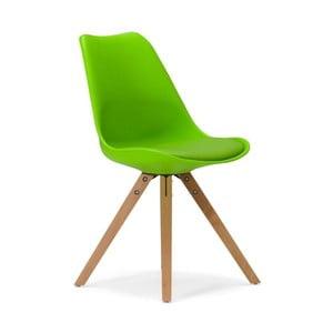 Zelená stolička SOB Seattle