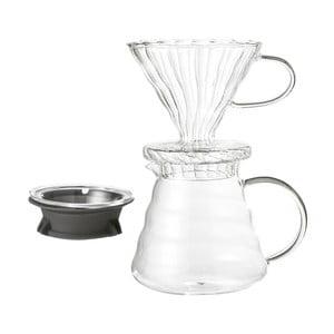 Sklenená sada na prípravu prekvapkávanej kávy Bloomingville Coffee Drip