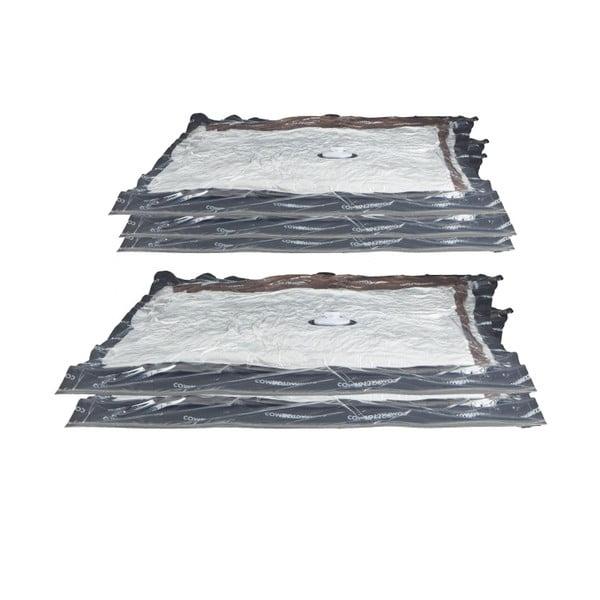 Sada 5 vákuových obalov na oblečenie Compactor Aspispace,90x55cm