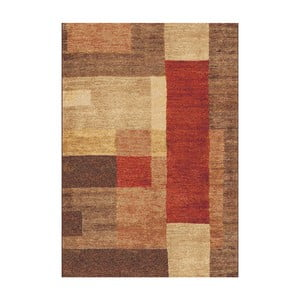 Hnedý koberec Universal Delta, 57x110cm