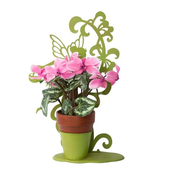 Dekoratívny kvetináč Vasetto, zelený