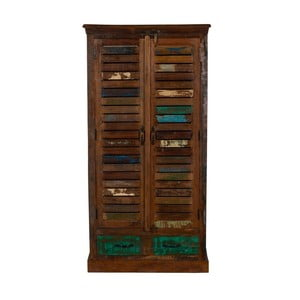 Skriňa z recyklovaného dreva Woodking Colour