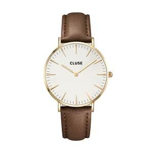 Hodinky Cluse La Bohéme Gold White/Brown
