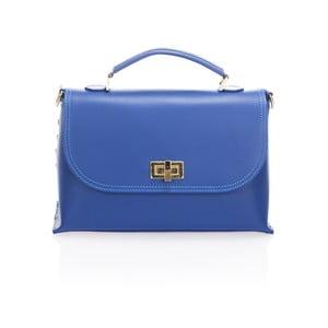 Kožená kabelka Harika, modrá