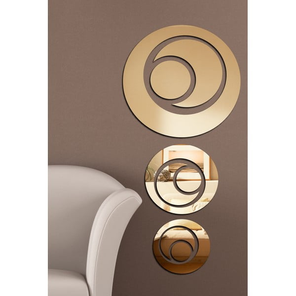 Dekoratívne zrkadlo Retro Oko