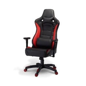 Kancelárska stolička Furnhouse De Luxe Swivel Red