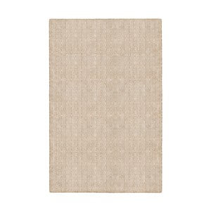 Béžový obojstranný koberec vhodný aj do exteriéru Green Decore Viva, 120 × 180 cm
