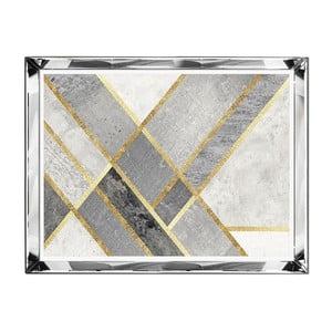 Nástenný obraz JohnsonStyle The Golden & Marble, 71 x 91 cm