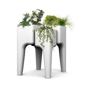 Dizajnový kvetináč KIGA Medium 88x68 cm, biely