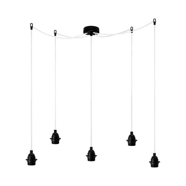 Závesné svietidlo Uno Basic, čierne