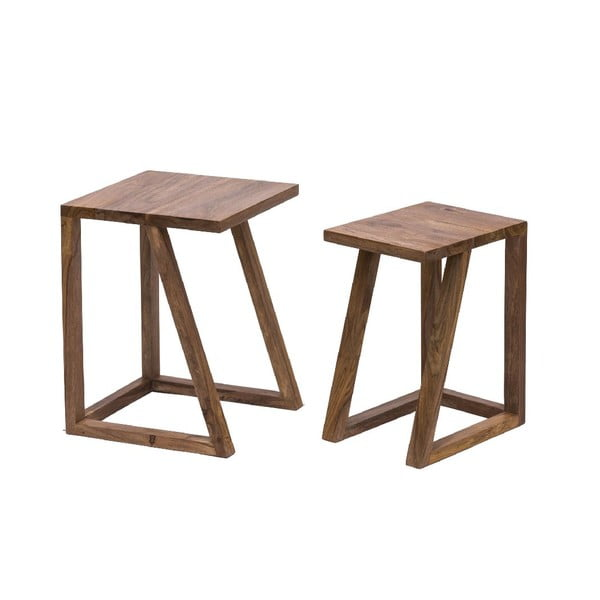 Set 2 stolíkov Sgabelli