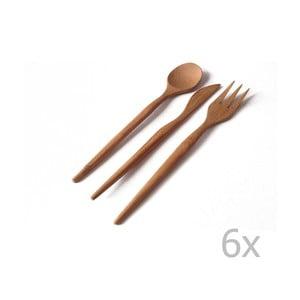 18-dielna sada bambusových príborov Bambum Pierino
