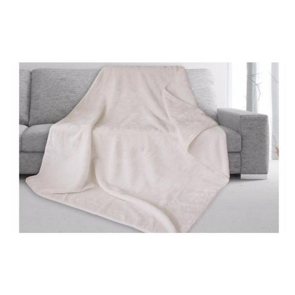 Biela deka Gözze Cashmere, 180x220cm