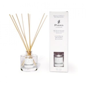 Vonný difuzér s vôňou ibišteka, lotosového kvetu, orchidey a gardénie Parks Candles London Purity, 250 ml