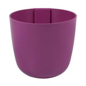 Magnetický kvetináč Bowl 12x11x12 cm, fuchsiový