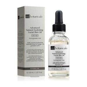 Pleťový olej pre mužov Dr.Botanicals Pomegranate Noir Advanced Natural Skin
