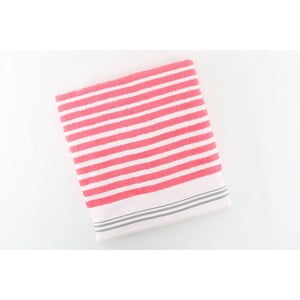 Bavlnený uterák BHPC 50x100 cm, ružovo-biely