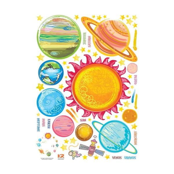 Sada samolepiek Ambiance Solar System Planets