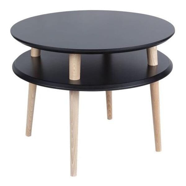 Konferenčný stolík UFO 45x57 cm, čierny