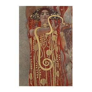 Reprodukcia obrazu Gustav Klimt - Hygieia, 60x40cm