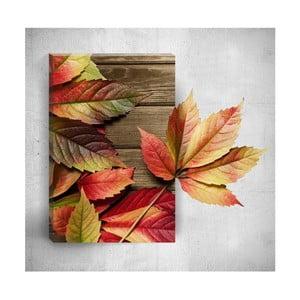 Nástenný 3D obraz Mosticx Autumn Detail, 40×60 cm