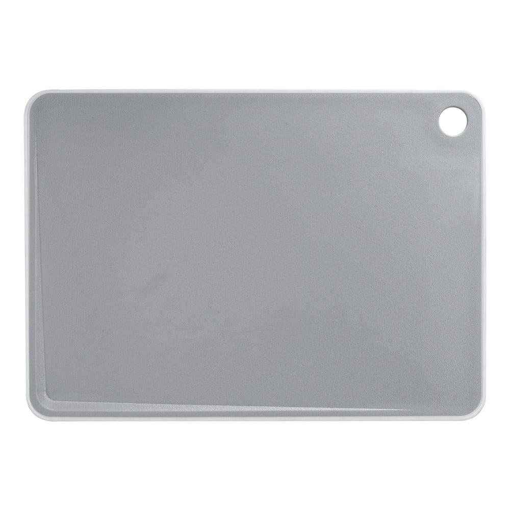 Sivá doska na krájanie Wenko Basic, 36 x 26 cm