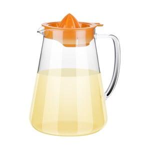 Džbán TEO Tescoma s odšťavovačom, oranžový