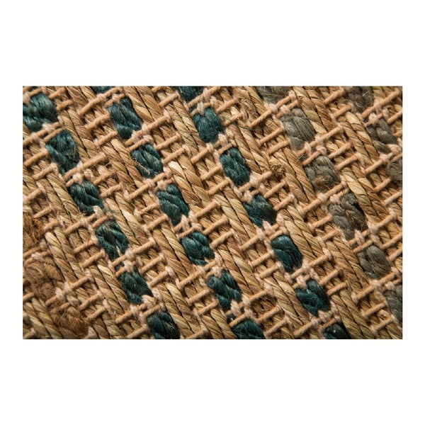 Koberec Seagrass Blue, 80x150 cm