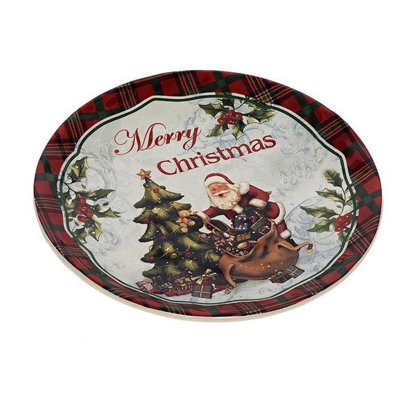 Keramický tanier Santa, 20 cm