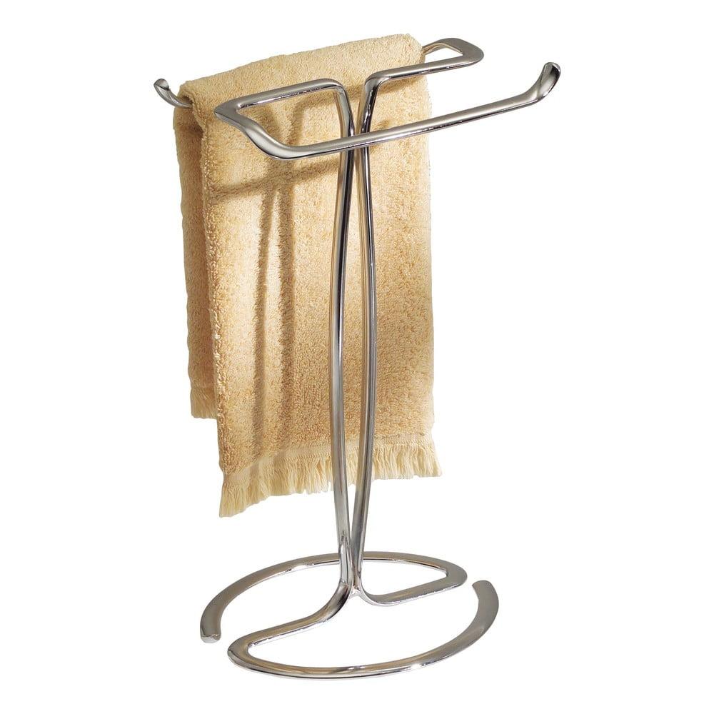 Oceľový stojan na uterák k umývadlu InterDesign