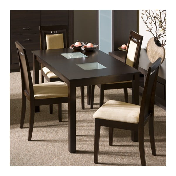 Rozkladací jedálenský stôl Antila, 120/164x80 cm