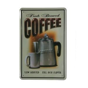 Ceduľa Framed Fresh Coffee, 20x30 cm