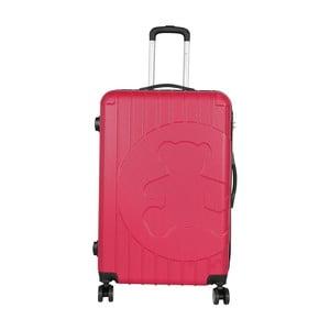 Ružový cestovný kufor LULU CASTAGNETTE Philip, 107 l
