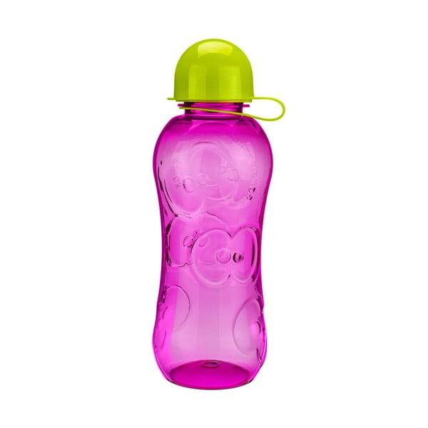 Fľaša na vodu Apple 500 ml, ružová