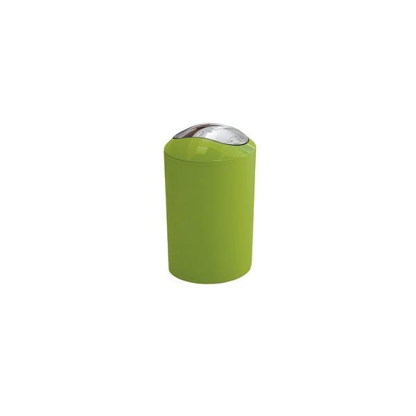 Odpadkový kôš Glossy Green, 3 l