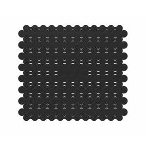 Čierna podložka do drezu Kela Rincer, 28 x 25 cm