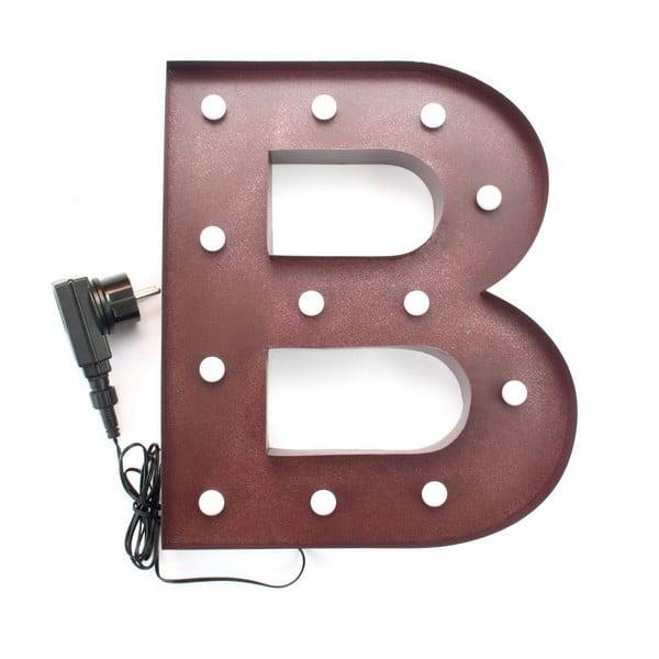 Sada 3 dekoratívnych svetelných písmen BAR