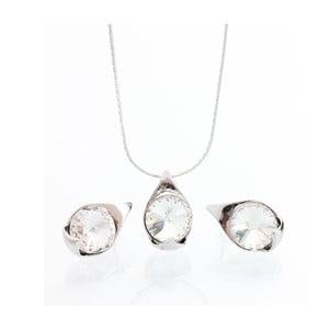 Set náhrdelníka a náušníc Laura Bruni Crystal