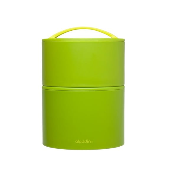 Termobox na obed/desiatu Bento 950 ml, zelený