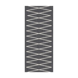 Behúň Floorita Fiord Dark Grey, 60 × 190 cm