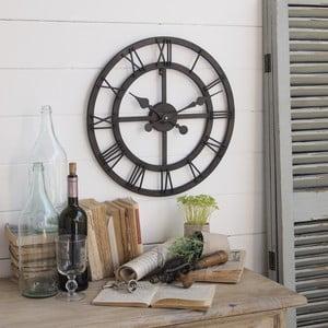 Nástenné hodiny Industrial Rusty Black, 50 cm