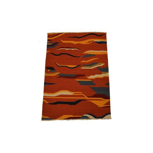 Ručne tkaný koberec Kilim Mrinal, 140x200cm